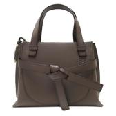 LOEWE 羅威 大象灰牛皮迷你手提包 Mini Gate Top Handle Bag【BRAND OFF】