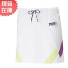 【現貨】PUMA INTL 女裝 短裙 裙子 棉質 休閒 復古 拼色 白 歐規【運動世界】59968902