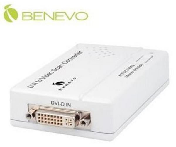 新竹【超人3C】現貨+預購*BENEVO 專業型支援3D降噪 DVI-D轉Composite Video訊號轉換器 BVC1902C