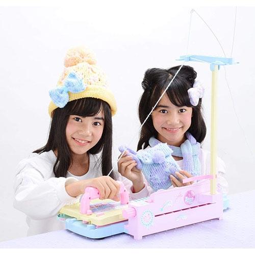 《 TAKARA TOMY 》豪華女孩DIY毛線機╭★ JOYBUS玩具百貨
