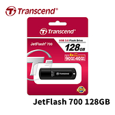 Transcend 創見 JetFlash 700 128GB USB 3.0 隨身碟 JF700