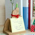 幸福森林.木製 客製聖誕禮 名片座 筆插...