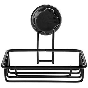 法國品牌 Compactor 吸盤霧黑肥皂架 型號RAN9777
