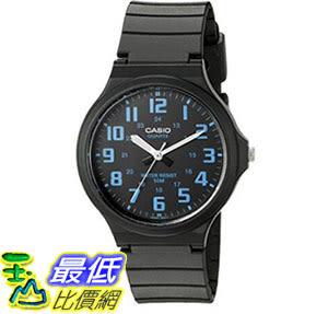 [出清價只有1個] 手錶 Casio Mens Easy To Read Quartz Black Casual Watch (Model: MW240-2BV)_Z21