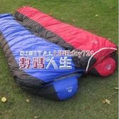 睡袋 -25羽絨睡袋 鴨絨超輕超保暖  冬季戶外睡袋 數碼人生igo