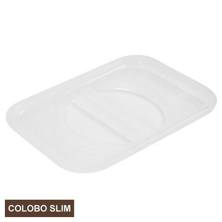 COLOBO SLIM收納盒盒蓋 CLEAR 透明 NITORI宜得利家居