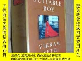二手書博民逛書店A罕見Suitable Boy 英文原版 大32開 1474頁Y146810 Vikram Seth Phoe
