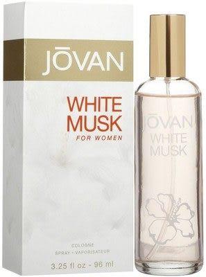 JOVAN WHITE MUSK 傑班 白麝香 女性淡香水 96ml【七三七香水精品坊】