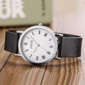 韓版時尚簡約潮流手錶男女士學生防水情侶女錶休閒復古男錶石英錶 9號潮人館