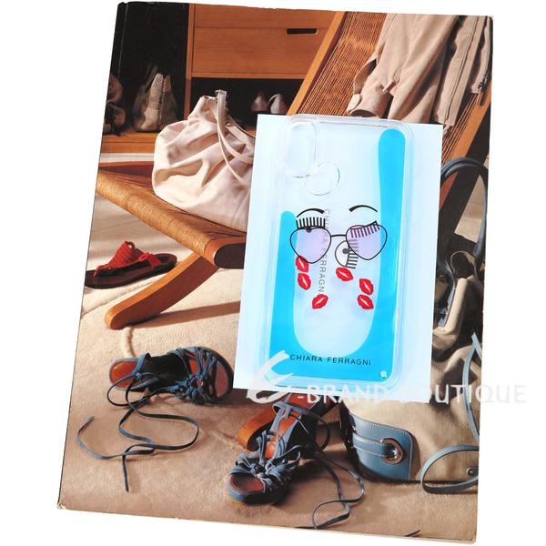 Chiara Ferragni 墨鏡紅唇圖案iPhone X手機殼(5.8吋)1920674-23