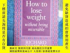 二手書博民逛書店how罕見to lose weight without bein