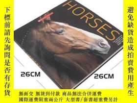 二手書博民逛書店馬的百科知識罕見Horses: The Definitive C