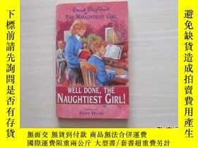 二手書博民逛書店well罕見done,the naughtiest girl!【
