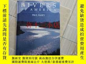 二手書博民逛書店Rivers罕見of North America 北美洲的河流