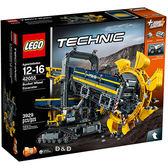 樂高積木 LEGO《 LT42055 》科技 Technic 系列 - 巨型滾輪挖土機 ╭★ JOYBUS玩具百貨