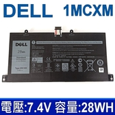 戴爾 DELL 1MCXM 4芯 原廠電池 28Wh 7.4V 內置電池 G3JJT Series