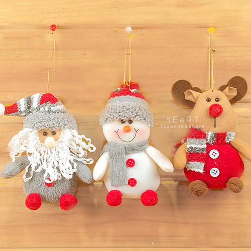 Xmas立體娃娃聖誕樹裝飾 聖誕樹吊飾 耶誕節