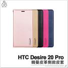 HTC Desire 20 Pro 隱形磁扣 皮套 手機殼 皮革 保護殼 保護套 手機皮套 保護皮套 附掛繩