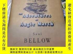 二手書博民逛書店英文原版罕見索爾貝婁Saul Bellow Adventure
