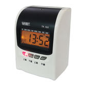 Vertex世尚TR-100 / TR100打卡鐘 4欄位/ 點陣式打卡鐘 台灣製 送100卡+10人卡架 (同JM-U9)