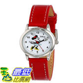 [103美國直購] 手錶 Disney Womens MN1023 Minnie Mouse White Dial Red Strap Watch $855