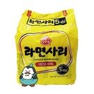 韓國不倒翁Q拉麵店(純麵條) 5包入 韓國泡麵