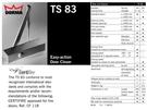 【麗室衛浴】德國 DORMA 玻璃推拉門 專用 門弓器 TS83