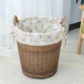 收納筐衣物籃家用布藝洗衣籃藤編臟衣簍
