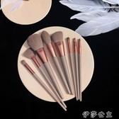 化妝刷2020新品8支化妝刷套裝套刷 美妝工具 散粉刷粉底刷 眼影刷免運 伊莎gz
