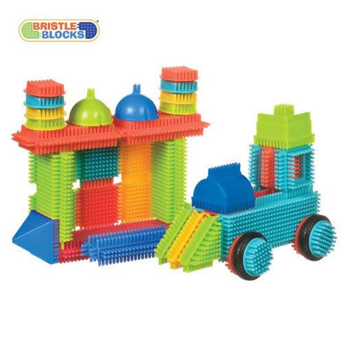 【奇買親子購物網】美國B.Toys BB鬃毛積木