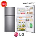 含安裝 LG 樂金 上下門冰箱 GN-BL418SV 直驅變頻上下門冰箱 / 星辰銀 公司貨