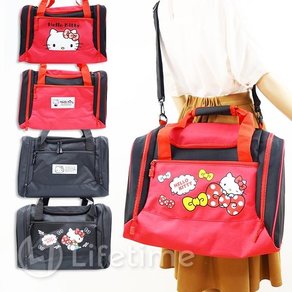 ﹝Kitty大容量旅行袋﹞正版 行李袋 旅行袋 收納包 運動包 凱蒂貓〖LifeTime一生流行館〗