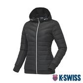 K-SWISS HS Padding Jacket韓版運動外套-女-深藍