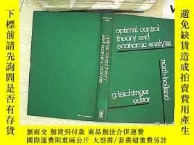 二手書博民逛書店optimal罕見control theory and econ