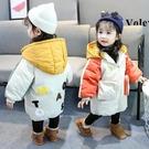 女童棉衣免運新款冬裝兒童棉服中長款女孩棉襖中小童加厚洋氣外套
