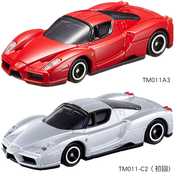 TOMICA 多美小汽車NO.011 Enzo Ferrari(2台一起賣)_TM011A3+TM011-C2