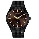 CITIZEN 星辰 光動能 小秒針黑殼腕錶 BV1115-82X