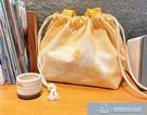 日式保溫飯盒袋上班族簡約可愛手提包帆布學生飯盒包便當包飯袋子