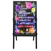 免安裝支架一體式熒光板 led電子發光小黑板手寫廣告板店鋪宣傳展示牌