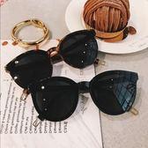 2018 春季新品 時髦大框圓形 好搭氣質偏光太陽鏡墨鏡圓臉女眼鏡