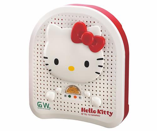 GW Hello Kitty 無線式除濕機 深紅蝴蝶結款