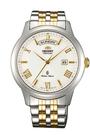 [Y21潮流精品] 新款!ORIENT 東方錶 Classic Design系列 日期顯示機械錶 白色 鋼帶款 FAL00003W