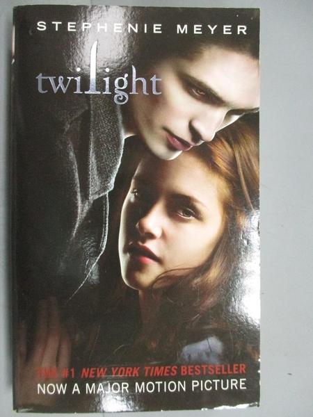 【書寶二手書T4/一般小說_HBG】Twilight 1_Meyer, Stephenie