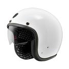 【東門城】ASTONE SP3 素色 (白) 復古帽 安全帽 內襯可拆洗