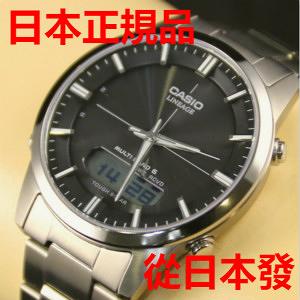 新品 日本正規品 CASIO 卡西歐手錶 LINEAGE LCW-M170TD-1AJF 太陽能電波手錶 男錶 女錶 黑色