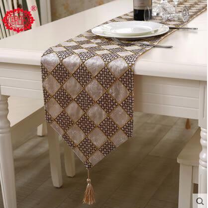 新款簡約現代桌奇時尚百搭格子絨布茶几布餐桌客廳桌布床尾巾