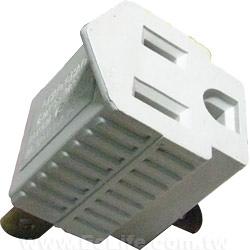 緯克 3 轉 2 PIN 電源轉換頭