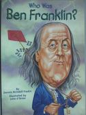 【書寶二手書T4/原文小說_HBV】WHO WAS BEN FRANKLIN_Fradin, Dennis B.