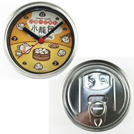 【收藏天地】吸掛兩用罐頭時鐘·*小籠包