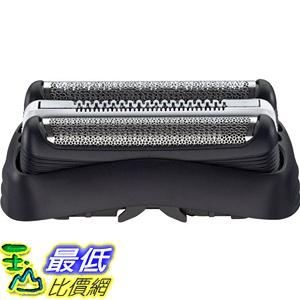 [104美國直購] Braun 德國百靈 32B 複合式刀頭刀網匣(黑) Series 3 Shaver Cassette Silver T14